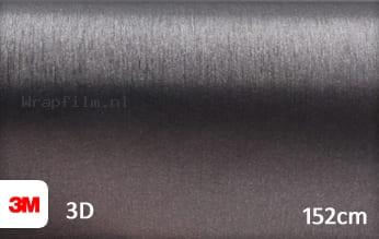 3M 1080 BR201 Brushed Steel wrap film