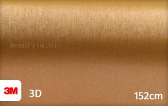 3M 1080 BR241 Brushed Gold wrap film