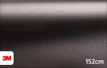 3M 1380 M221 Matte Charcoal Metallic wrap film