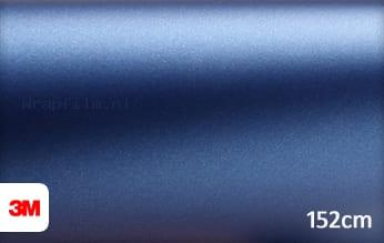 3M 1380 M287 Matte Slate Blue Metallic wrap film