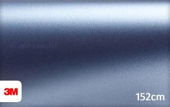 3M 1380 S257 Satin Ice Blue Metallic wrap film