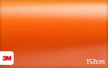 3M 1380 S284 Satin Autumn Orange wrap film
