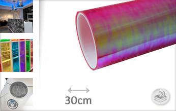 Flipflop roze doorzichtig wrap film