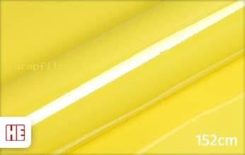 Hexis HX20108B Lemon Yellow Gloss wrap film