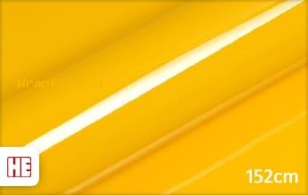 Hexis HX20123B Daffodil Yellow Gloss wrap film