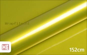 Hexis HX20558B Yellow Metallic Gloss wrap film
