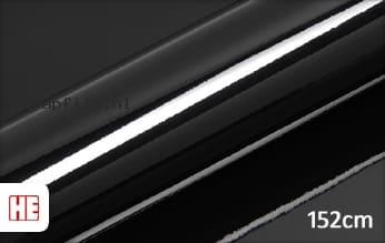 Hexis HX20889B Coal Black Gloss wrap film