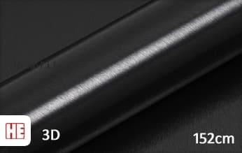 Hexis HX30BA889B Brushed Alu Coal Black Gloss wrap film