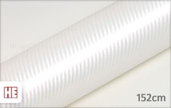 Hexis HX30CABPEB Carbon Pearl White Gloss wrap film
