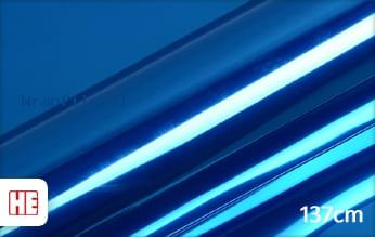 Hexis HX30SCH05B Super Chrome Blue Gloss wrap film