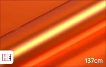 Hexis HX30SCH08SB Super Chrome Orange Satin wrap film