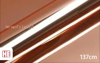 Hexis HX30SCH12B Super Chrome Rose Gold Gloss wrap film