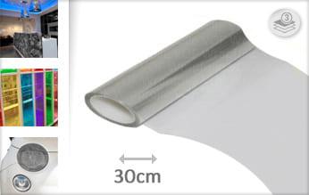 Transparant wrap film