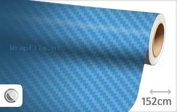 Babyblauw 3D carbon wrap film