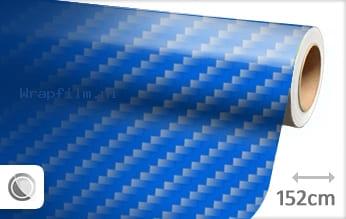 Blauw 2D carbon wrap film