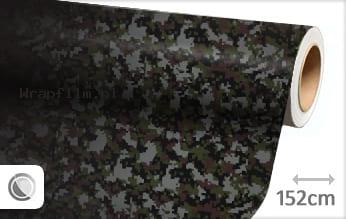 Camouflage digitaal wrap film