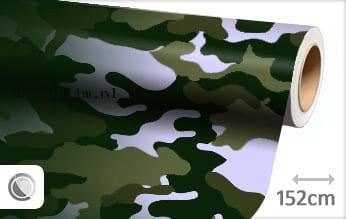 Camouflage groen wrap film