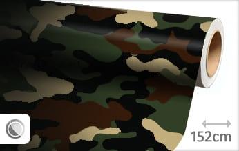 Camouflage leger wrap film