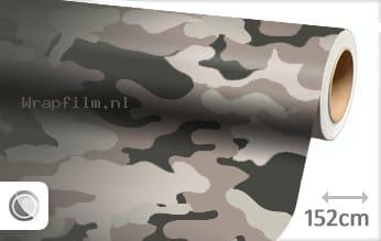 Camouflage wrap film