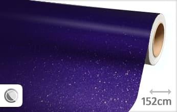 Diamant paars wrap film