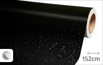 Diamant zwart wrap film