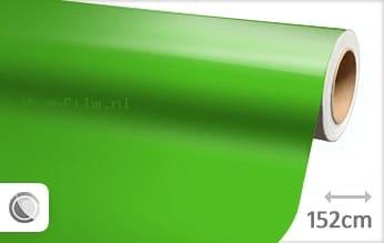 Glans groen wrap film