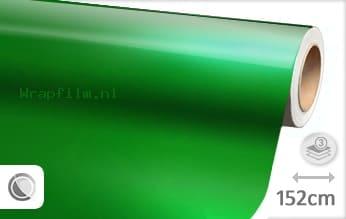 Glans metallic groen wrap film