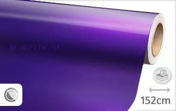 Glans metallic paars wrap film