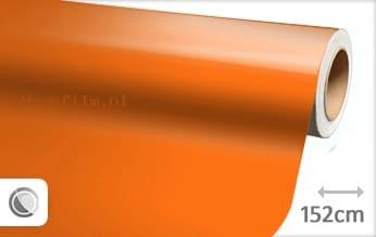 Glans oranje wrap film