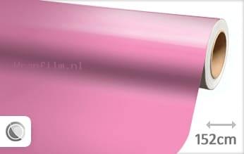 Glans roze wrap film