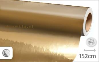 Goud chroom wrap film
