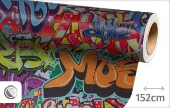 Graffiti wrap film
