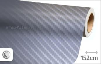 Grijs 4D carbon wrap film