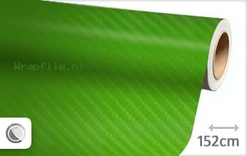 Groen 4D carbon wrap film