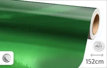 Groen chroom wrap film
