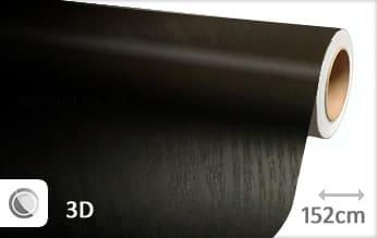 Hout zwart wrap film