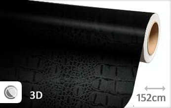 Krokodil print wrap film