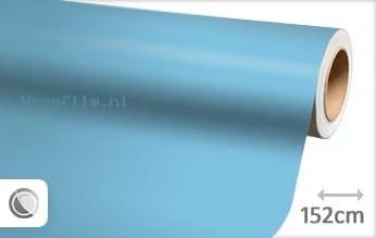 Mat babyblauw wrap film