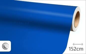 Mat blauw wrap film