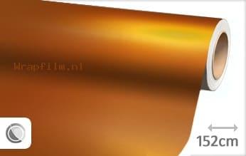 Mat chroom oranje wrap film