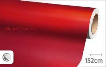 Mat chroom rood wrap film