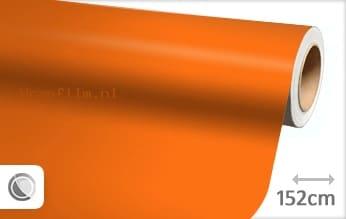 Mat oranje wrap film