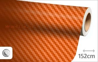 Oranje 3D carbon wrap film