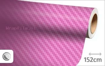 Roze 3D carbon wrap film