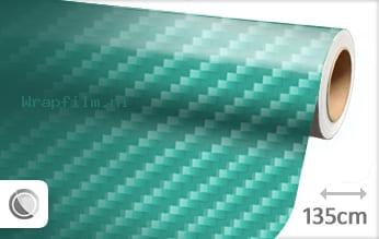 Turquoise 2D carbon wrap film