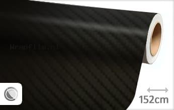 Zwart 4D carbon wrap film